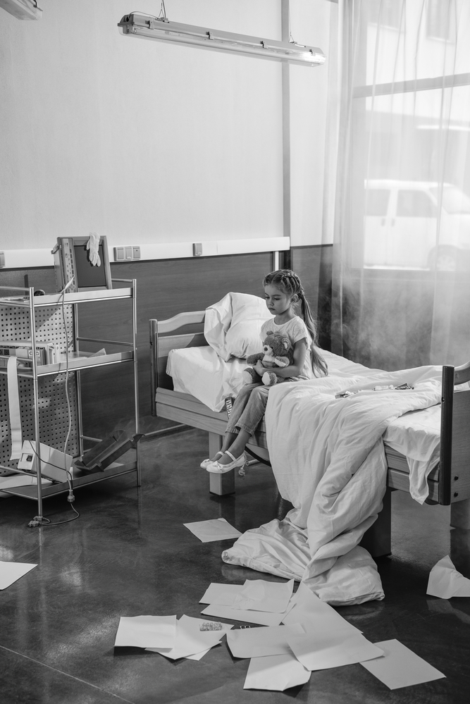 Girl In The Hospital | Image via Deposit Photos