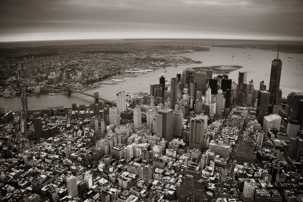 Manhattan Aerial View | Image via Deposit Photos