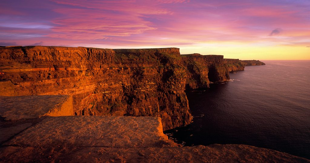 Cliffs of Moher, Ireland | Image via Wild Rover Tours