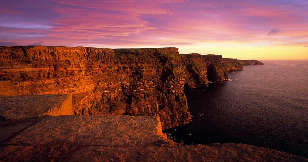 Cliffs of Moher, Ireland | Image via Wild Rover Tours