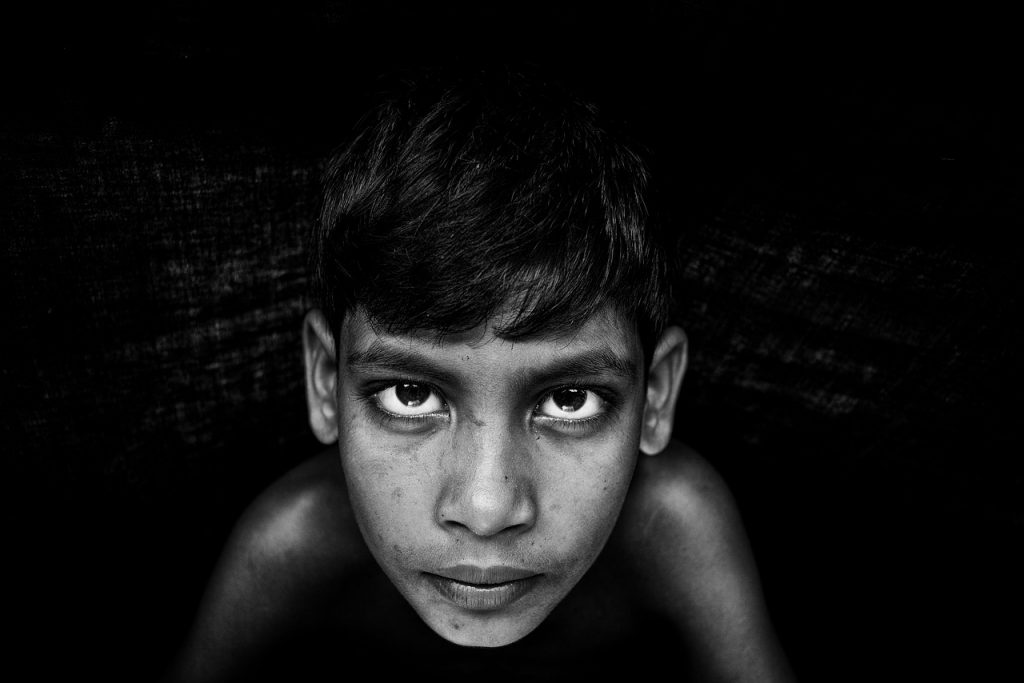 Portrait of a boy image via pixabay